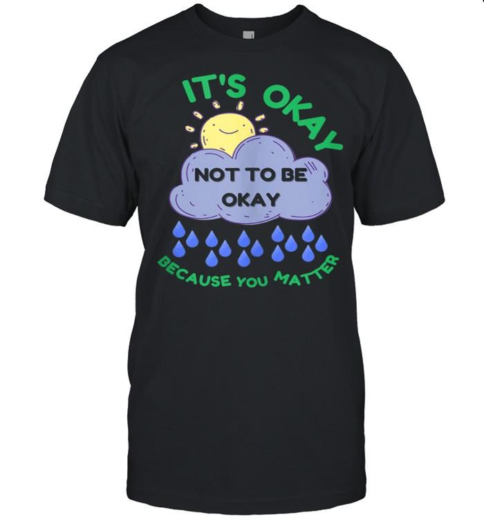 Mental Health Awareness Mind End Stigma shirt Classic Men's T-shirt