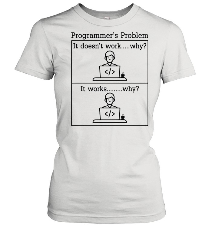 Programmers problem it doesnt work shirt Classic Women's T-shirt