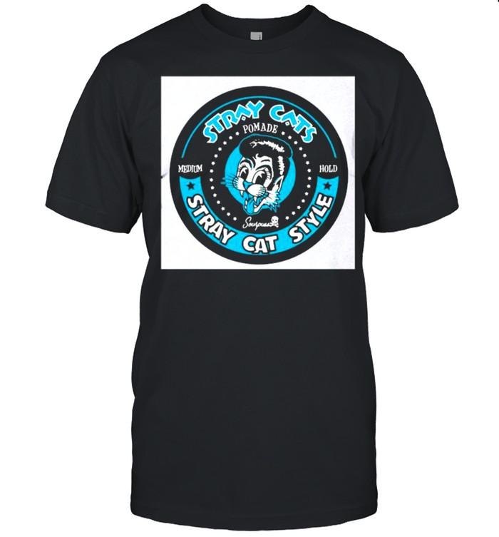 Stray Cats Stray Cat Style Pomade Medium Hold  Classic Men's T-shirt
