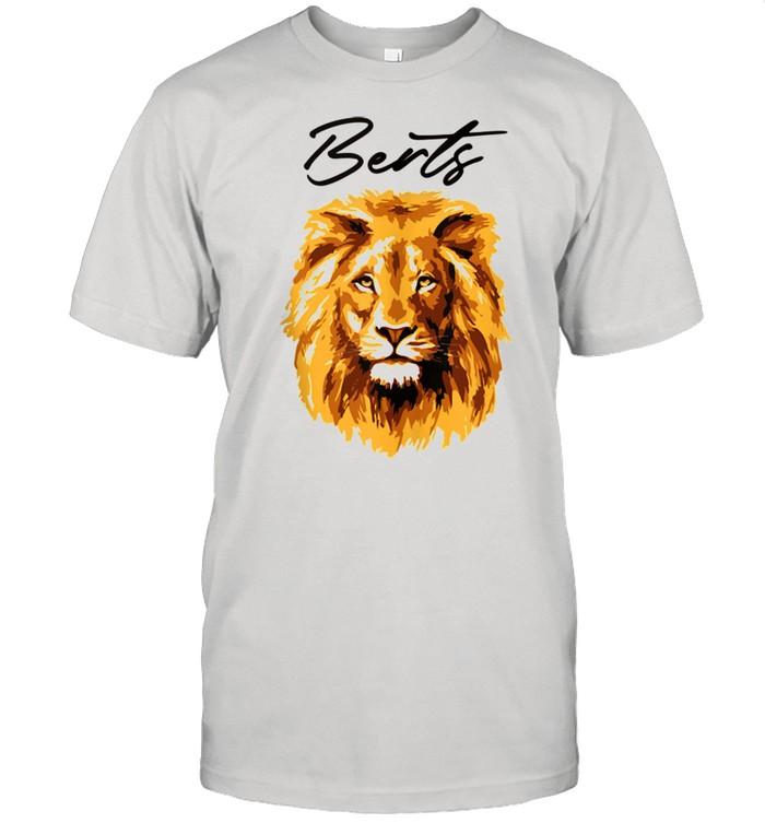 3D Lion Art By Berts shirt Classic Men's T-shirt