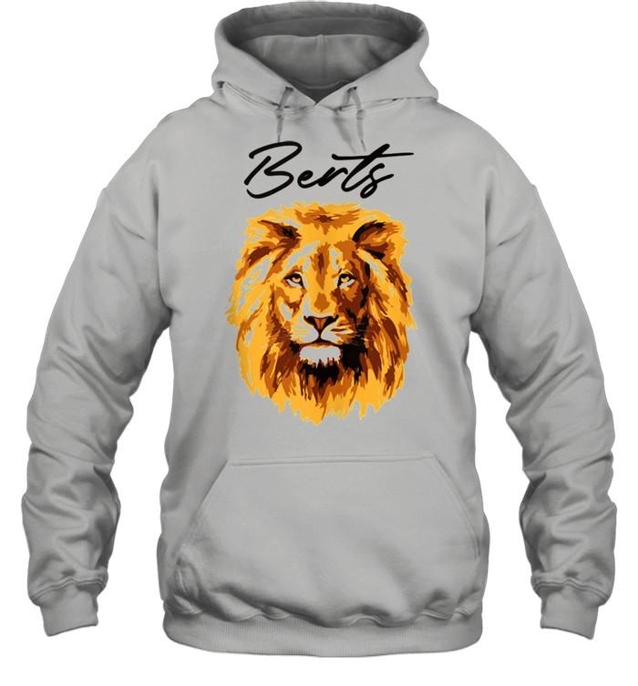 3D Lion Art By Berts shirt Unisex Hoodie