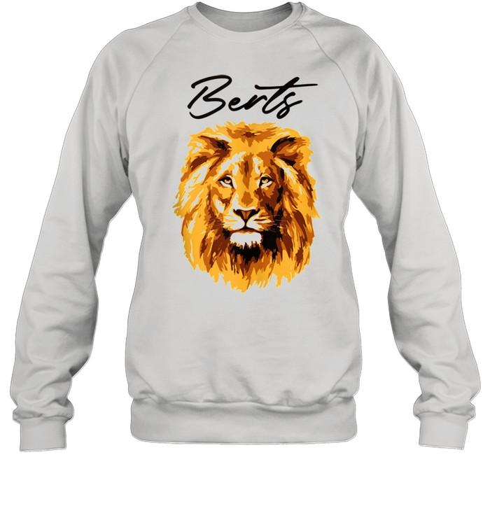 3D Lion Art By Berts shirt Unisex Sweatshirt