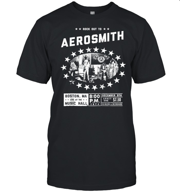 Aerosmith Live at the Music Hall shirt Classic Men's T-shirt