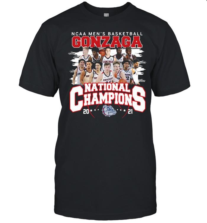 Ncaa mens basketball Gonzaga Bulldogs national champions 2021 shirt Classic Men's T-shirt