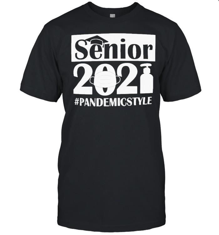 Graduations Class of 2021 Senior #PandemicStyle shirt Classic Men's T-shirt