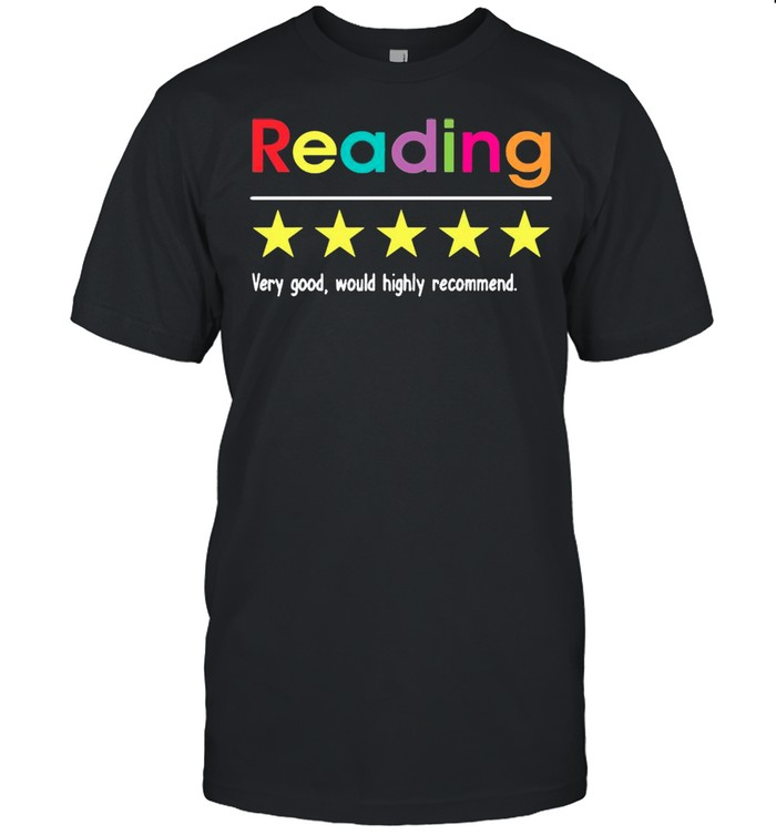 Reading Very Good Would Highly Recommend shirt Classic Men's T-shirt