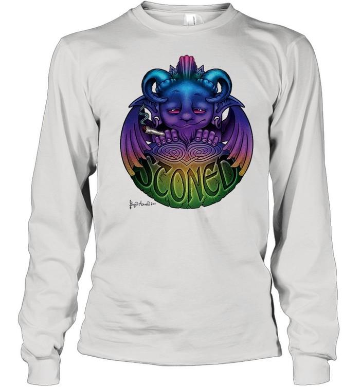stoned gargoyle shirt Long Sleeved T-shirt
