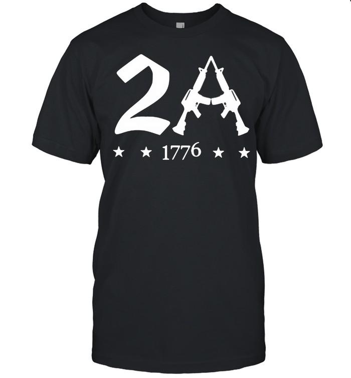 2A 1776 Guns  Classic Men's T-shirt