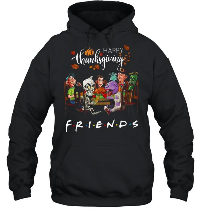 Happy Thanksgiving friends shirt Unisex Hoodie