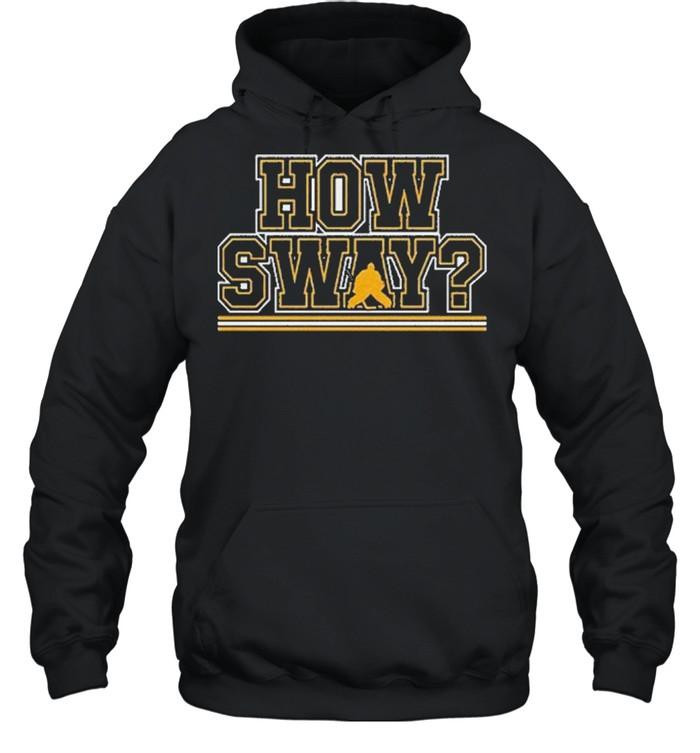 How sway boston hockey shirt Unisex Hoodie