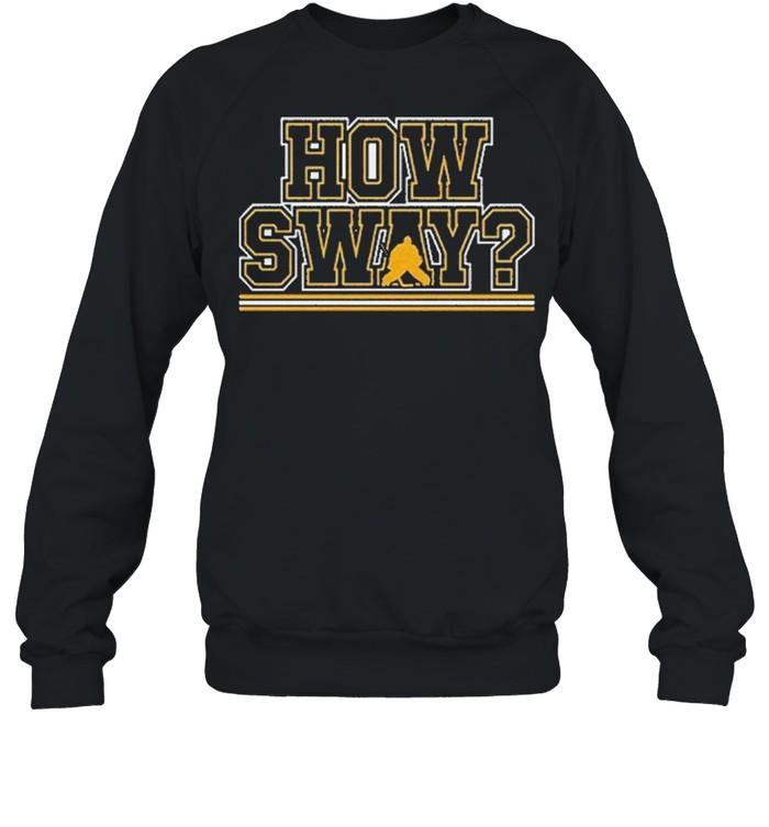 How sway boston hockey shirt Unisex Sweatshirt
