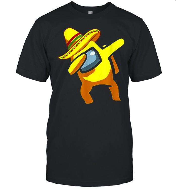 Dabbing Among Us Cinco de Mayo Mexican  Classic Men's T-shirt