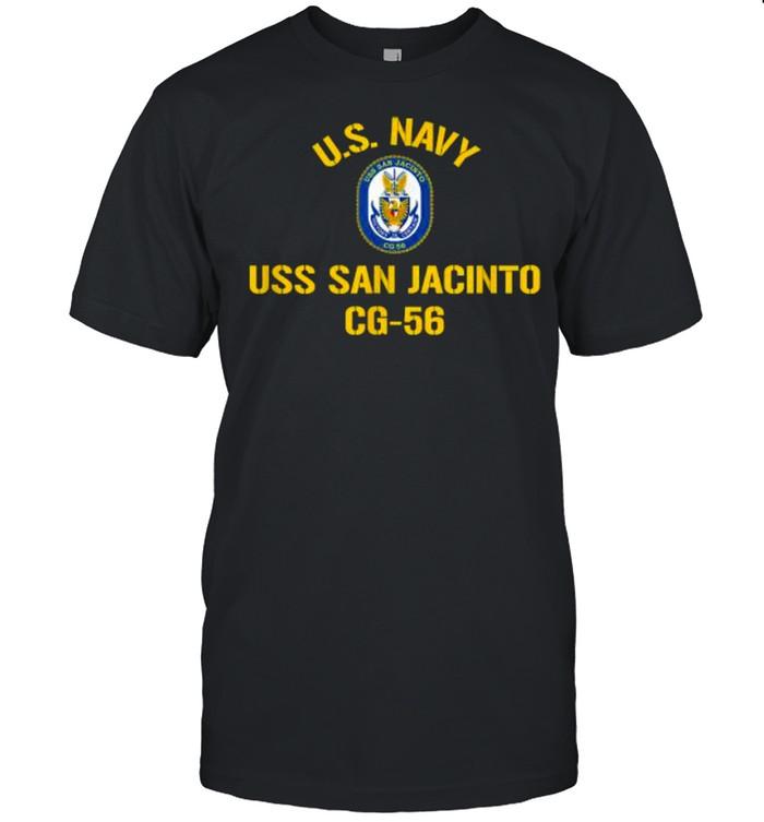 US navy USS San Jacinto CG 56 Shirt