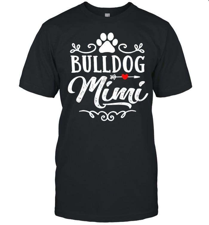 Bulldog Mimi Bulldog Mimi Mother's Day Bulldog shirt Classic Men's T-shirt