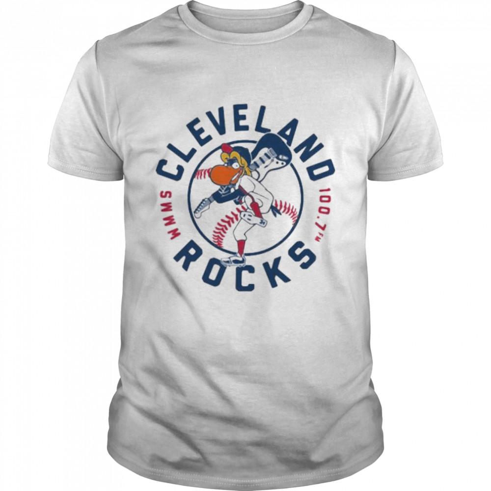 Cleveland Rocks Baseball  Classic Men's T-shirt