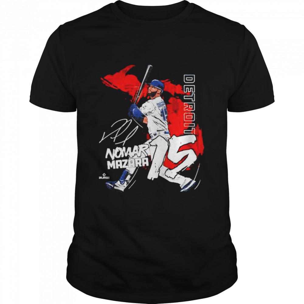 Detroit Baseball Nomar Mazara signature shirt Classic Men's T-shirt