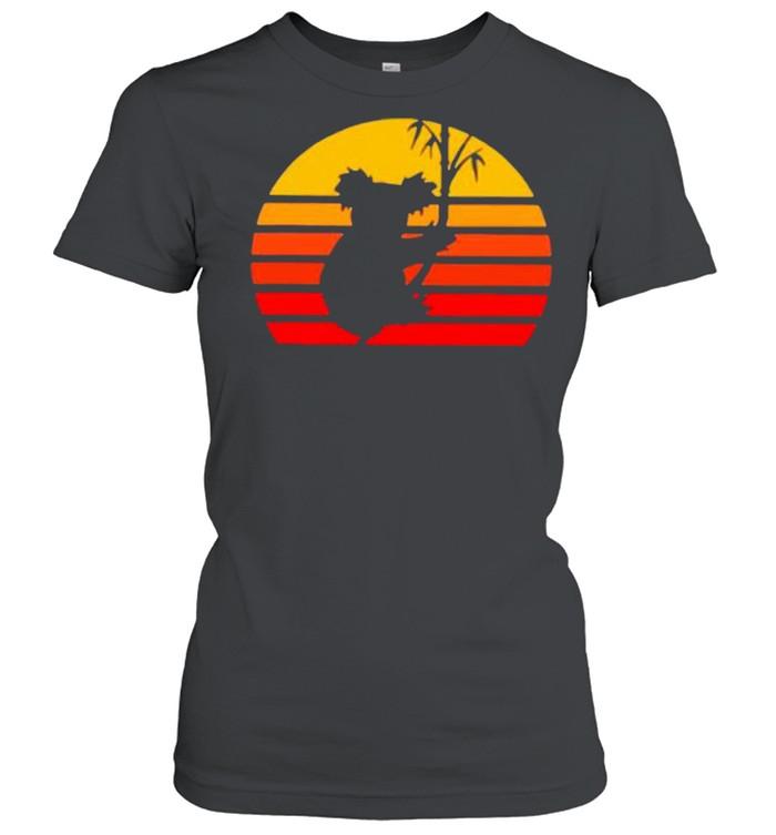 Vintage Retro Koalas shirt Classic Women's T-shirt