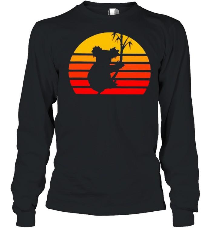 Vintage Retro Koalas shirt Long Sleeved T-shirt