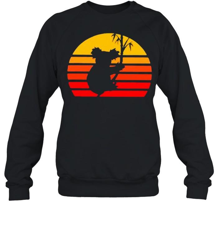 Vintage Retro Koalas shirt Unisex Sweatshirt