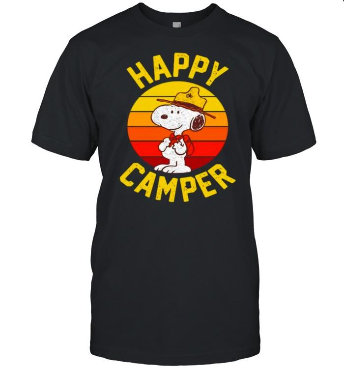 Happy Camper Vintage shirt Classic Men's T-shirt