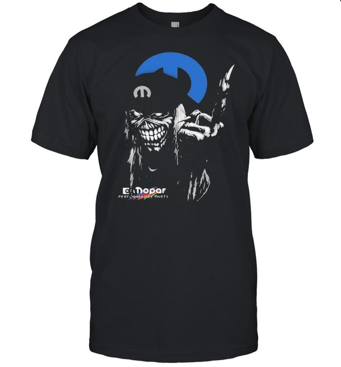 Skull Mopar Performance Cars Logo Shirt