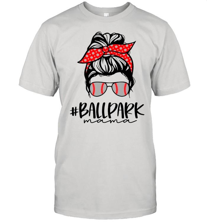 Ball Park Mama Baseball Softball Mothers Day Mom shirt Classic Men's T-shirt