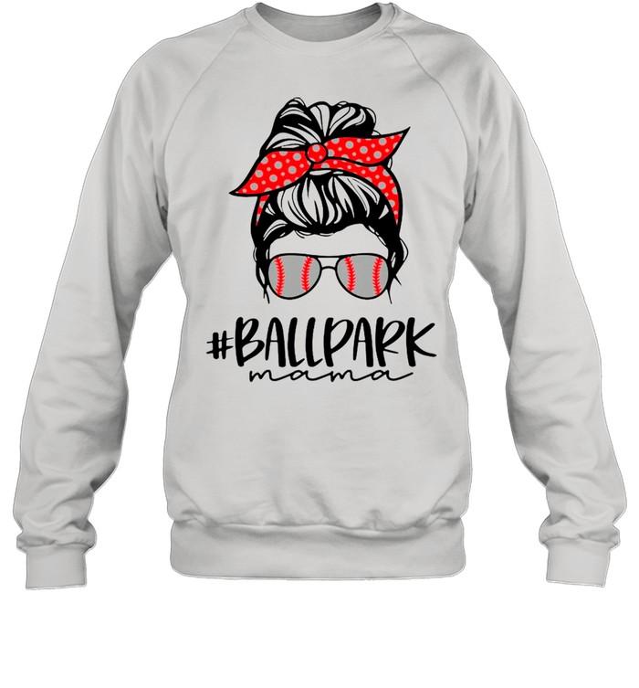 Ball Park Mama Baseball Softball Mothers Day Mom shirt Unisex Sweatshirt
