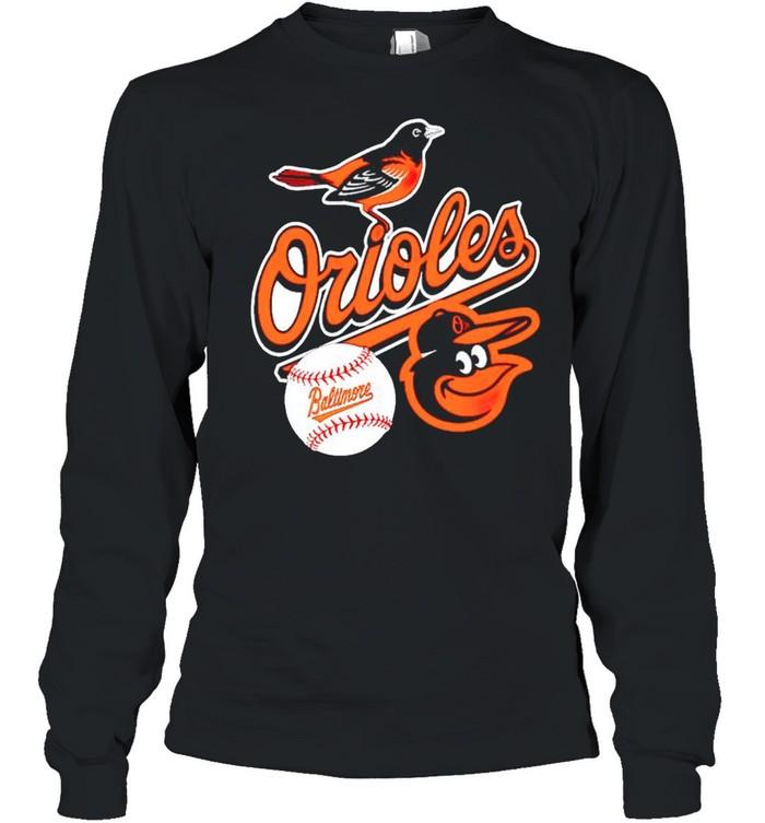Baltimore Orioles baseball shirt Long Sleeved T-shirt