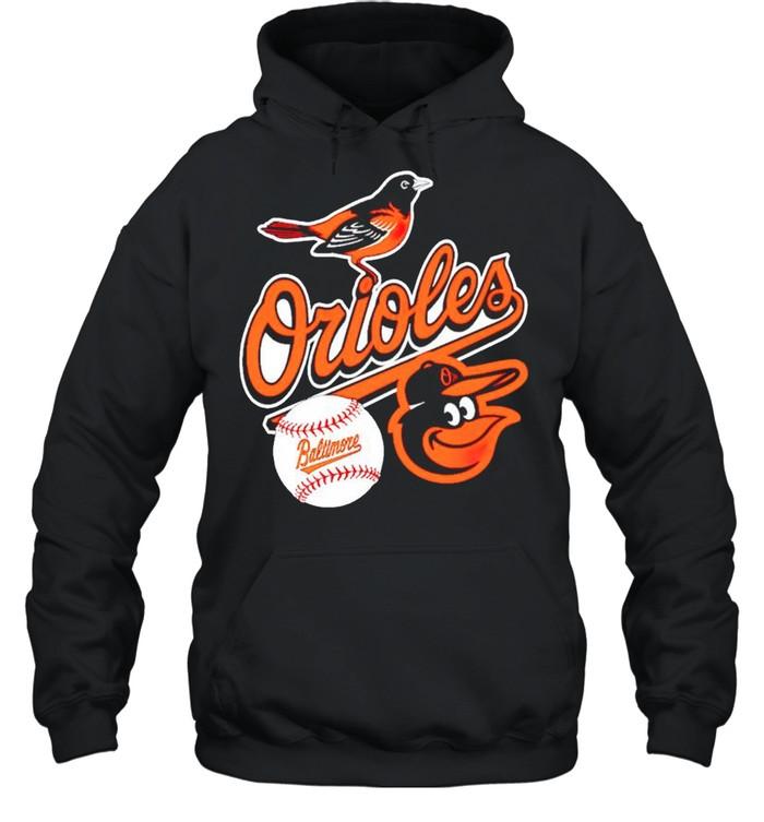 Baltimore Orioles baseball shirt Unisex Hoodie