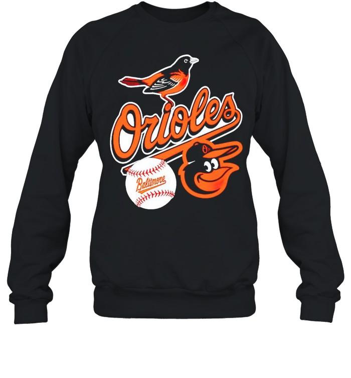 Baltimore Orioles baseball shirt Unisex Sweatshirt
