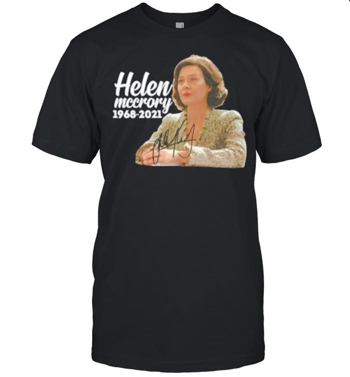 Helen Mccrory Legand Never Die 1968 2021 Signature  Classic Men's T-shirt