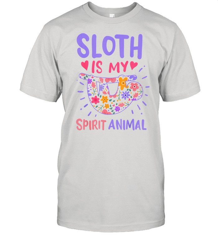 Sloth Spirit Animal shirt Classic Men's T-shirt