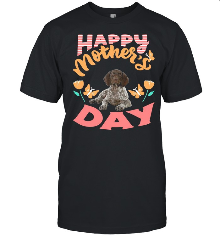 German Shorthaired Pointer Happy Mothers Day 2021 shirt Classic Men's T-shirt