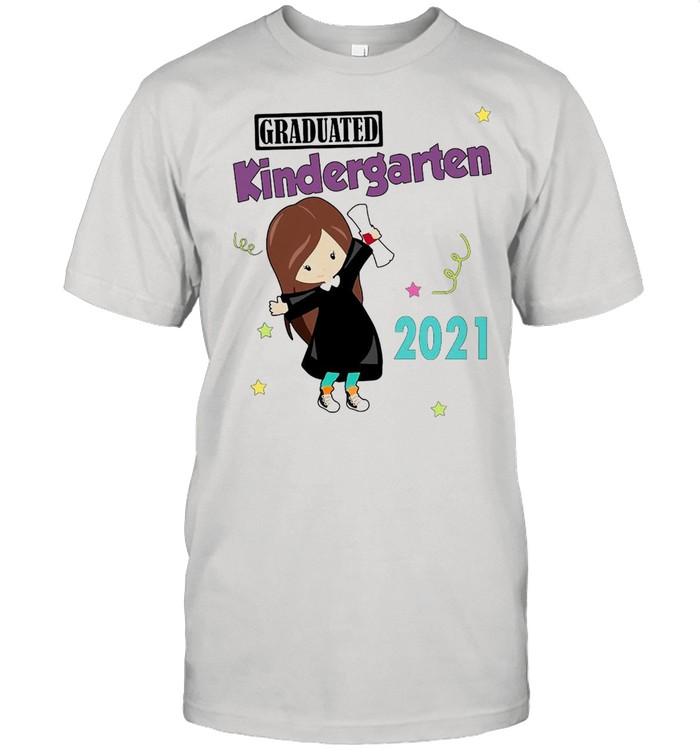 Girly Graduated Kindergarten 2021 T-shirt Classic Men's T-shirt