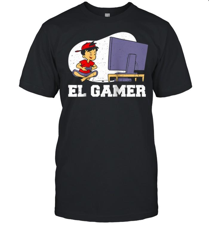 Mexican El Gamer Gaming shirt Classic Men's T-shirt