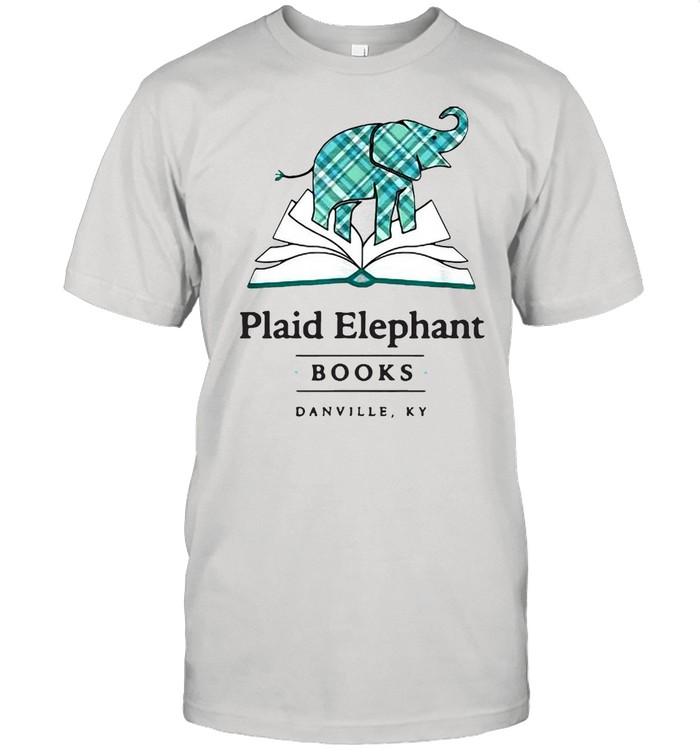 Plaid Elephant Books Danville Ky T-shirt Classic Men's T-shirt