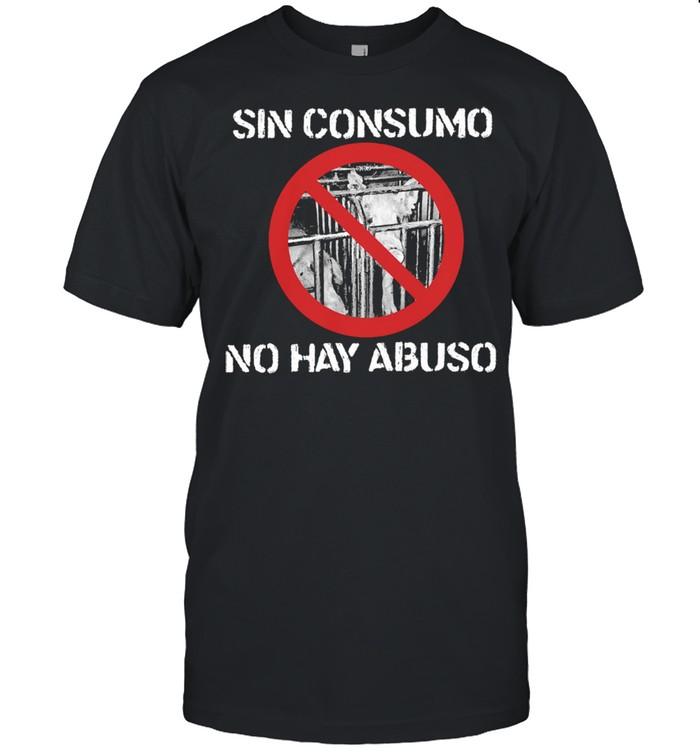 Sin consumo no hay abuso shirt Classic Men's T-shirt