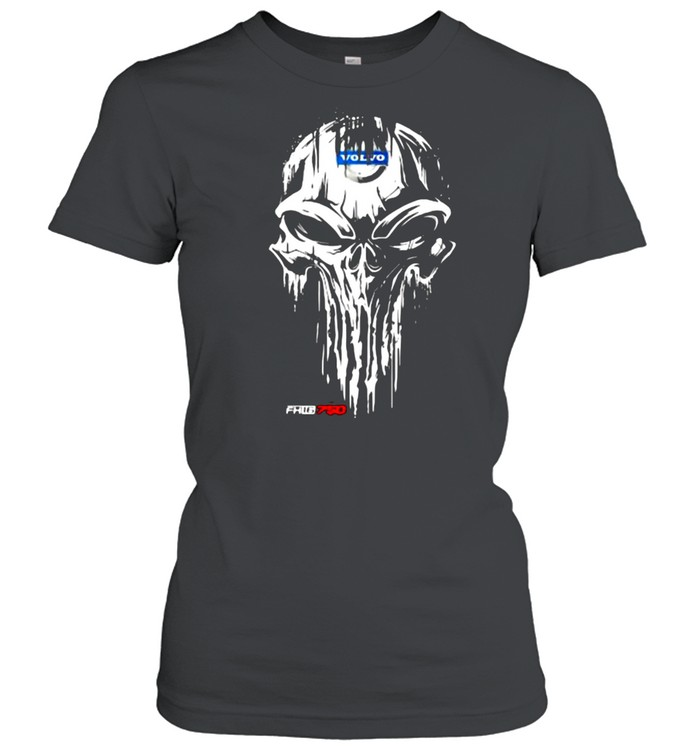 Punisher With Volvo Fh16 750 Logo  Classic Women's T-shirt