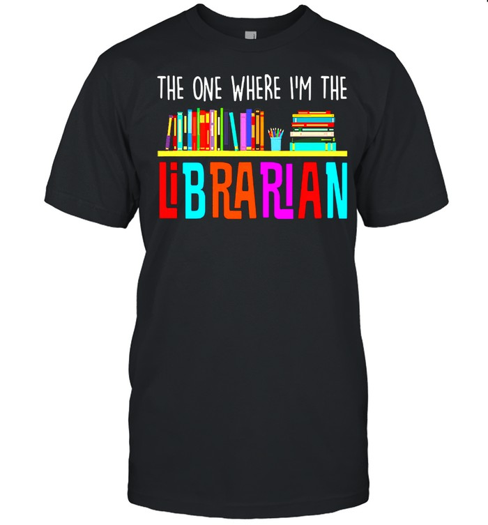 The one where Im the librarian shirt Classic Men's T-shirt