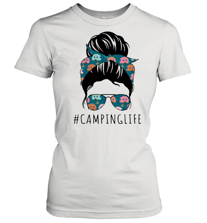 Camping life Mother's day  Classic Women's T-shirt