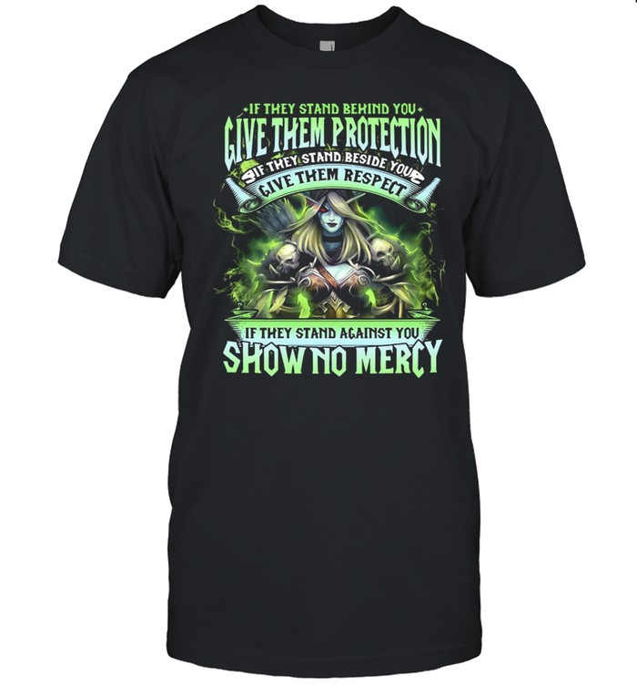 If They Stand Behind You Give Them Protection If They Stand Beside You Give Them Respect T-shirt Classic Men's T-shirt