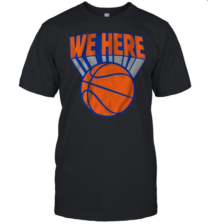 New York We Here Basketball shirt Classic Men's T-shirt