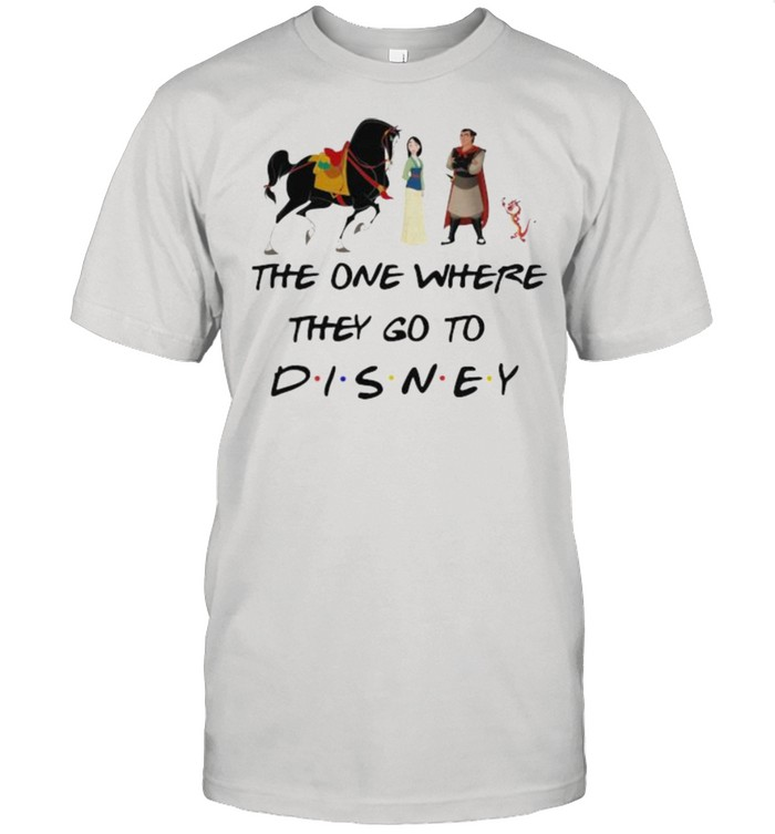 The One Where They Go To Disney Mulan Movie  Classic Men's T-shirt