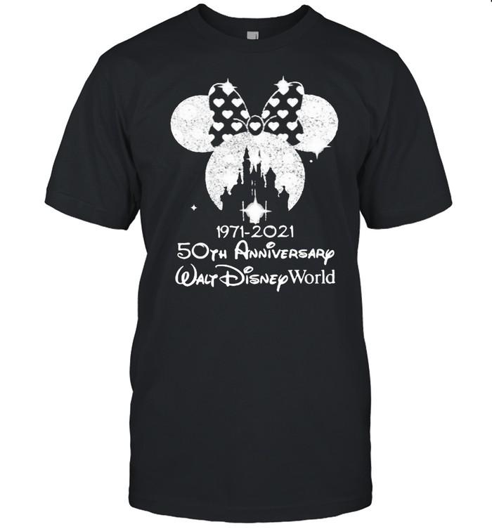 1971 2021 50th Anniversary Walt Disney World Minnie  Classic Men's T-shirt
