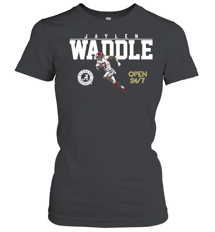 Alabama Football Jaylen Waddle Of The University shirt Classic Women's T-shirt