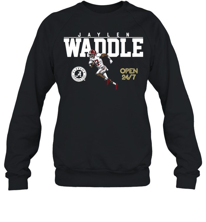 Alabama Football Jaylen Waddle Of The University shirt Unisex Sweatshirt
