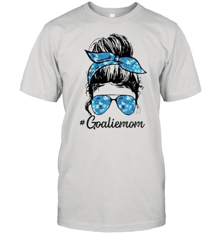 Goalie Mom Girl  Classic Men's T-shirt