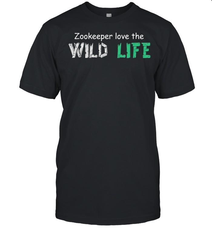 Love The Wildlife Animal Watchers shirt Classic Men's T-shirt