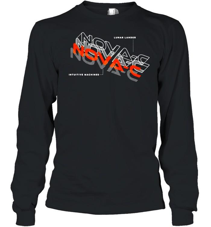 Nova-C Blueprint intutive kunar lander  Long Sleeved T-shirt