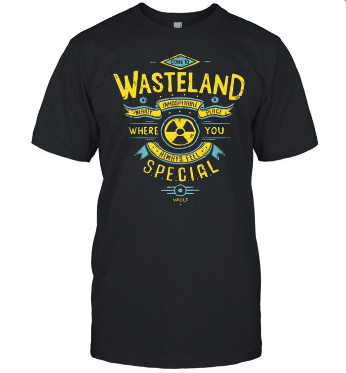 Wasteland where you always feel special shirt Classic Men's T-shirt
